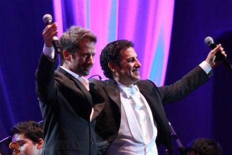 Juan Diego Flórez cautivó con su voz