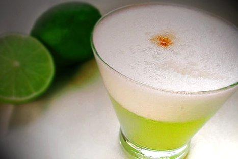 El Pisco Sour tiene propiedades medicinales