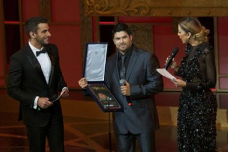 Jerry Rivera recibió un premio TV y Novelas