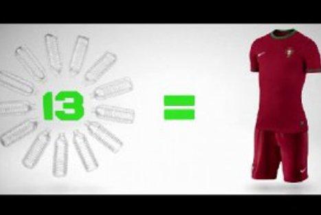Cinco selecciones usarán uniformes reciclados en la Eurocopa