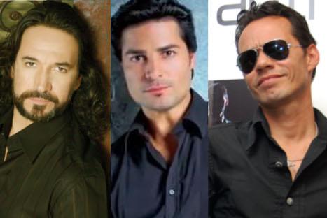Marc Anthony, Marco Antonio Solis y Chayanne realizarán gira por Estados Unidos