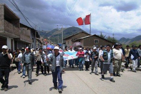 Dirigentes cajamarquinos dan ultimátum al gobierno sobre proyecto Conga