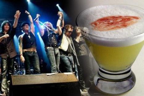 Artistas del Rock piden probar el pisco sour