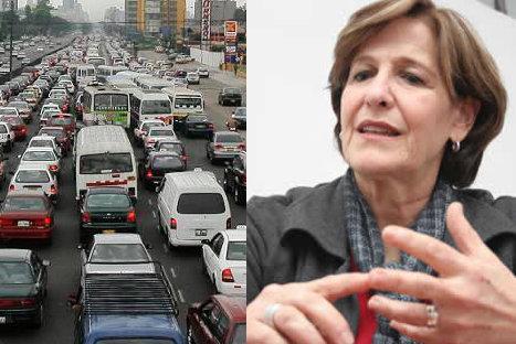 Nuevo reglamento de tránsito entrará en vigencia en julio, asegura alcaldesa Villarán