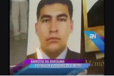 España: Detienen a cuatro personas por asesinato de peruano en Barcelona
