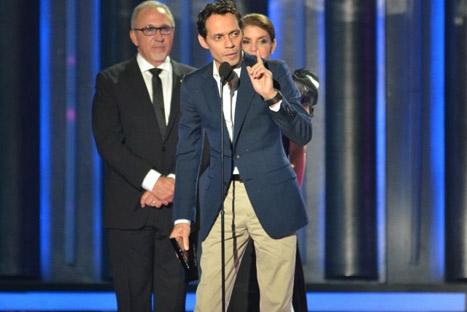Marc Anthony galardonado con el premio Billboard del Salón de la Fama