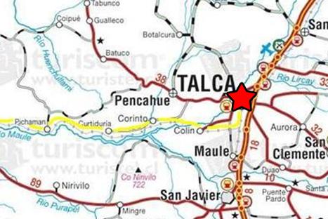 Sismo de 4.9 grados se sintió en tres regiones de Chile
