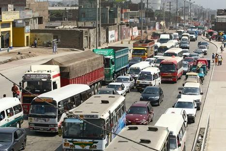 Policía de Tránsito pide regular horario de tránsito de camiones