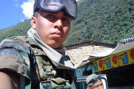 Soldado César Vilca fue hallado muerto por su padre