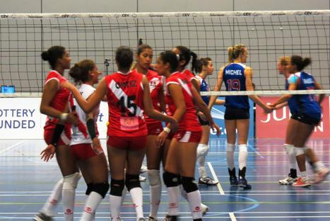 Selección peruana de vóley venció a Gran Bretaña