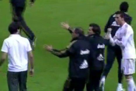 Video: Cristiano Ronaldo y Javi Martínez protagonizaron enfrentamiento verbal