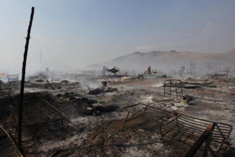 Incendio en Mala dejó 40 familias afectadas