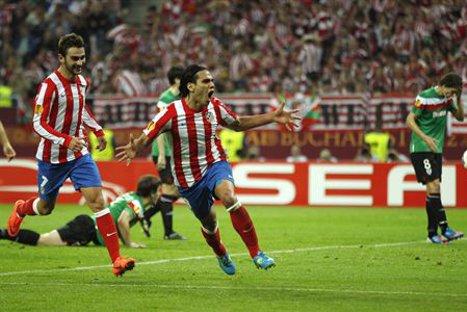 Atlético de Madrid goleó al Athletic y se coronó campeón de la Europa League
