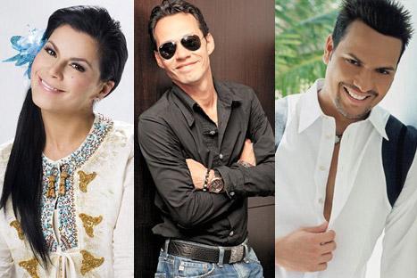 Olga Tañón, Marc Anthony y Víctor Manuelle nominados a los premios Juventud 2012