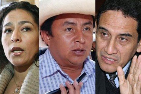 Parlamentarios critican a Gregorio Santos por intención de formar frente político