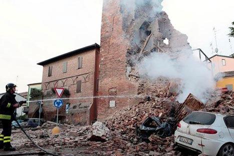 Italia: Más de tres mil personas han sido evacuadas por sismos