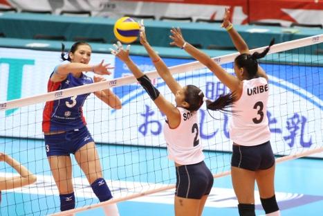 Selección de voley perdió contra Rusia y suma tres derrotas en Preolímpico