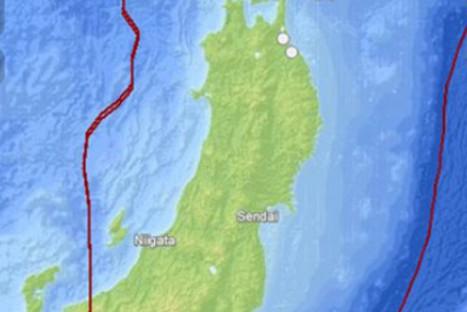 Sismo de 6.0 grados remeció noreste de Japón