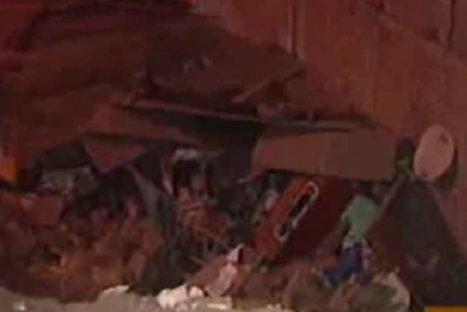 Derrumbe en el Rímac aplastó dos viviendas