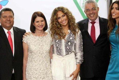 Jennifer López ya está en Latinoamérica