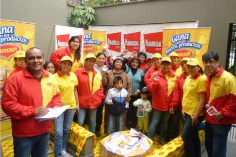 Radio Panamericana y Maggi entregaron cocinas a afortunados ganadores