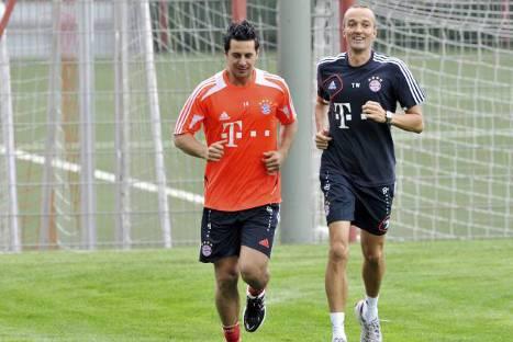 Pizarro comenzó sus entrenamientos en el Bayern Munich