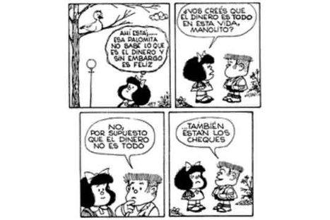 Quino, creador de Mafalda, cumple 80 años