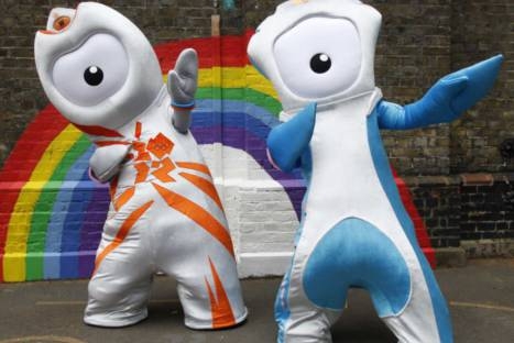 Conoce a Wenlock y Mandeville las mascotas de las Olimpiadas