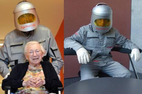Científicos alemanes desarrollan traje para entender que se siente ser anciano