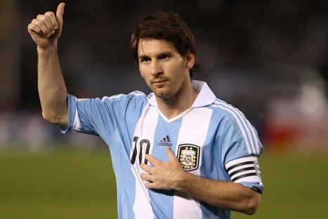 Mira el tatuaje de Lionel Messi en honor a su hijo Thiago