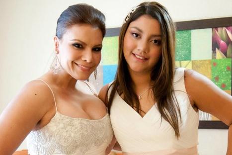 Hija de Olga Tañón fue operada de emergencia de la vesícula