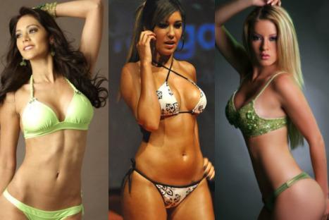 FOTOS: Tilsa, Leslie y Karen, Las bellezas que siempre alientan a la selección