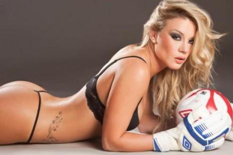 FOTOS: Leslie Shaw envía su apoyo a la selección con esta sexy foto