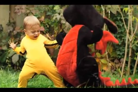 VIDEO: Conoce al Dragon Baby, la nueva sensación de Youtube