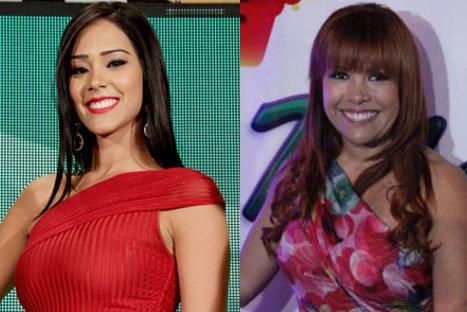 Karen Schwarz responde críticas de Magaly Medina la llamó 'Chica Serrucho'