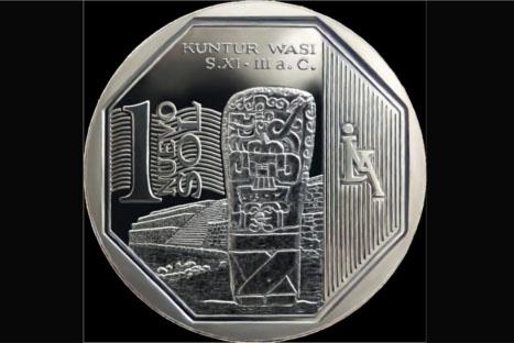 Nueva moneda de S/. 1 entra en circulación