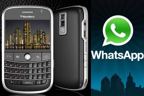 WhatsApp le dice adiós al 'BlackBerry'