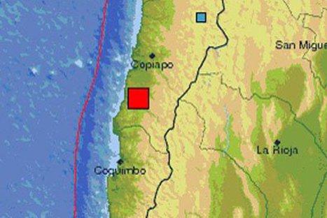Sismo de 6.7 grados remeció norte de Chile