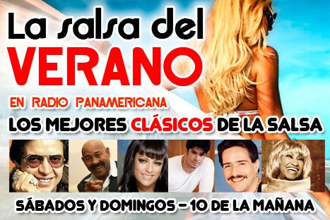 """Radio Panamericana presenta """"La salsa del verano"""""""