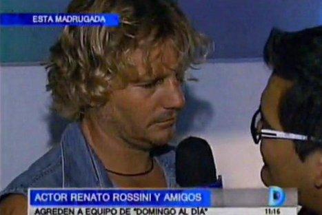Renato Rossini agredió a periodistas en discoteca de Punta Hermosa - VIDEO