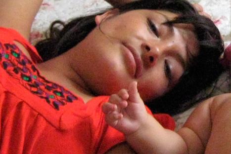 Magaly Solier se convirtió en madre por primera vez
