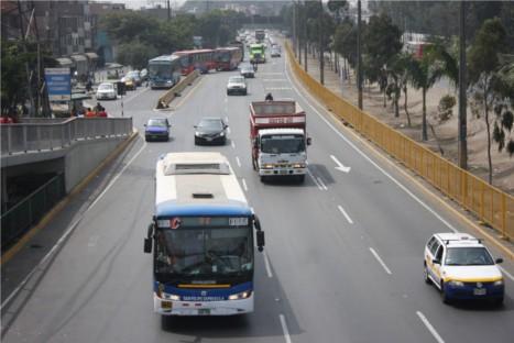 Lima: Reordenarán vías de Evitamiento y Puente Nuevo