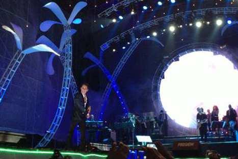 Marc Anthony y N'Klabe cerraron con broche de oro Festival de la Salsa en México
