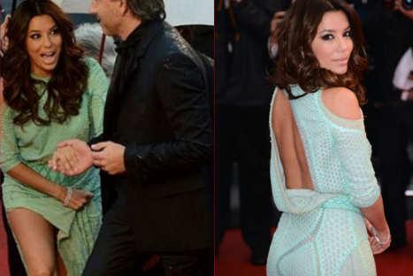 Eva Longoria dejó ver su 'lado más íntimo' en Festival de Cannes