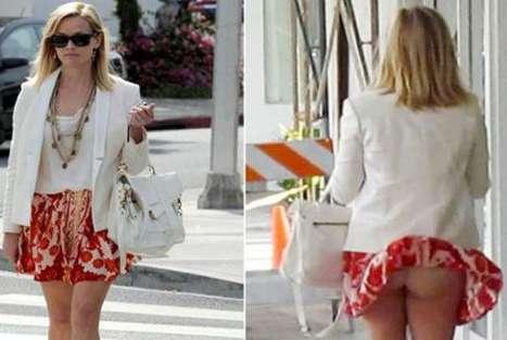 Reese Witherspoon mostró 'más de la cuenta' accidentalmente – VIDEO