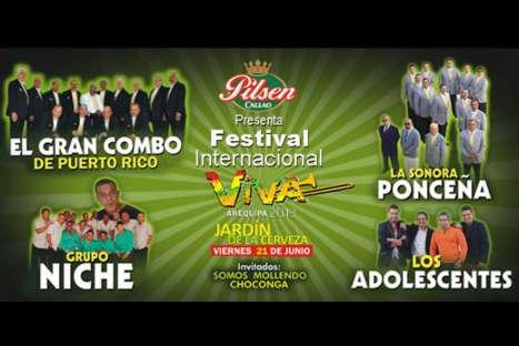 Lista de ganadores de entradas dobles para 'Viva Arequipa 2013' y 'Viva Cusco 2013'