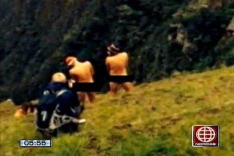 Jóvenes se grabaron desnudos en Machu Picchu - VIDEO