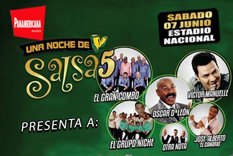 ¡Disfruta del conciertazo 'Una noche de salsa 5' gracias a Radio Panamericana!