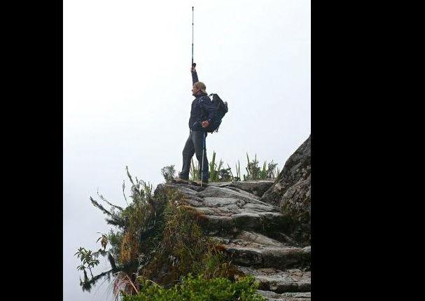 Antonio Banderas y su hija no pudieron evitar llorar al ver Machu Picchu