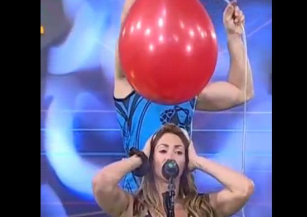 Melissa Loza sufre bochornoso momento durante programa en vivo (VIDEO)